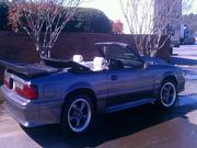1990 FORD mustang Ford Mustang 2 door convertible fox body